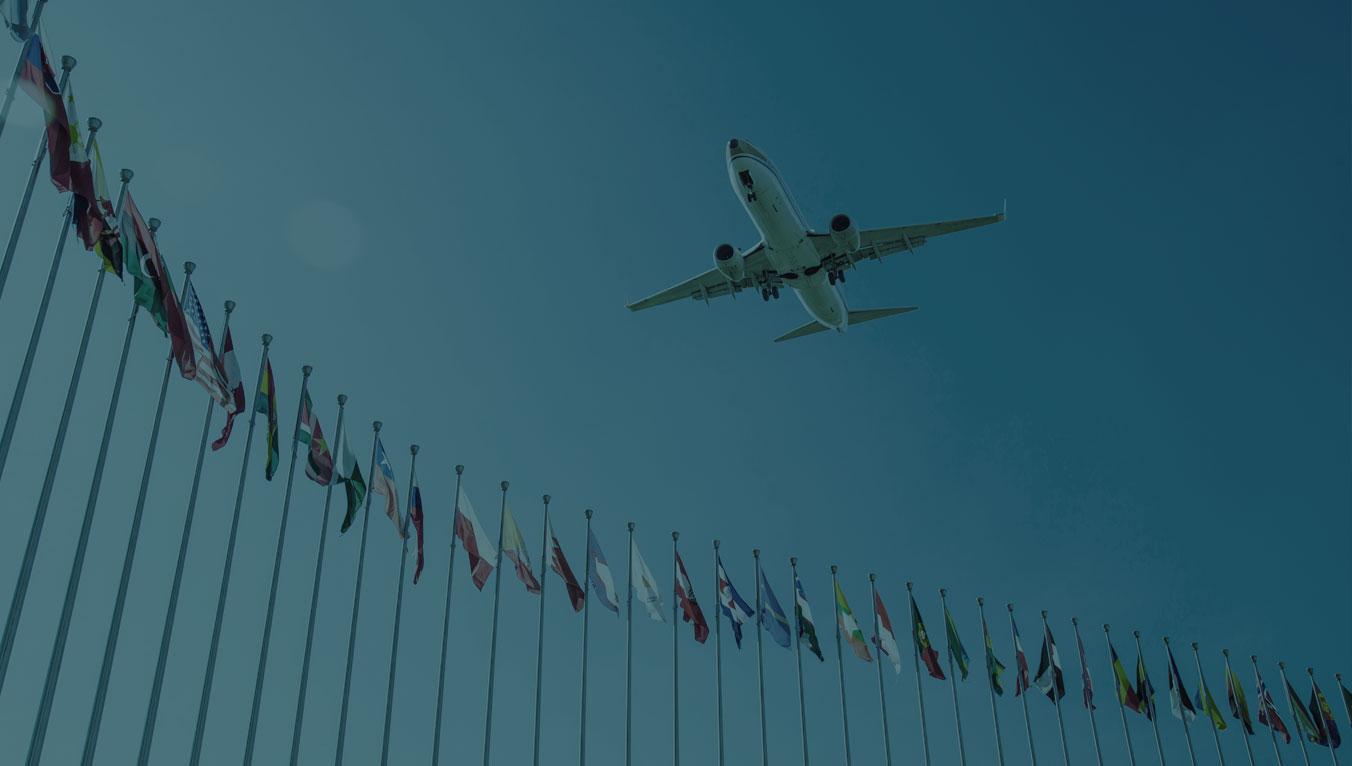 Professionelle Flugorganisation und -umsetzung von Delegationsreisen