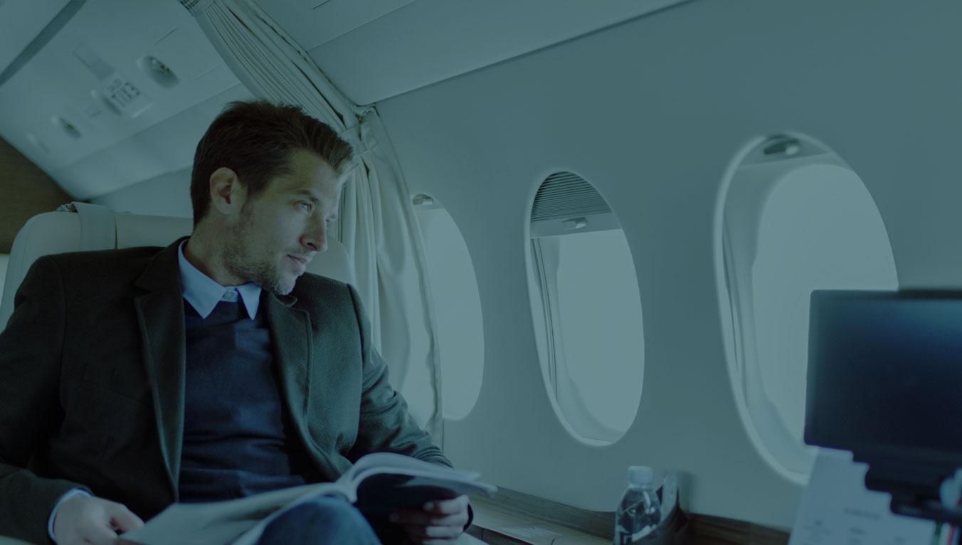 Beratung und Service für Privatreisen und Urlaubsflüge im Privatjet oder Helikopter