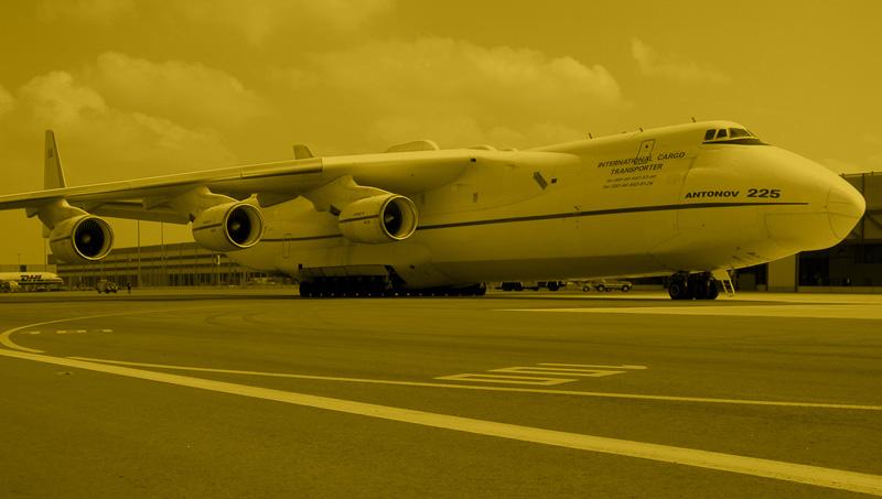 Outsized Cargo mit Flächenflugzeugen