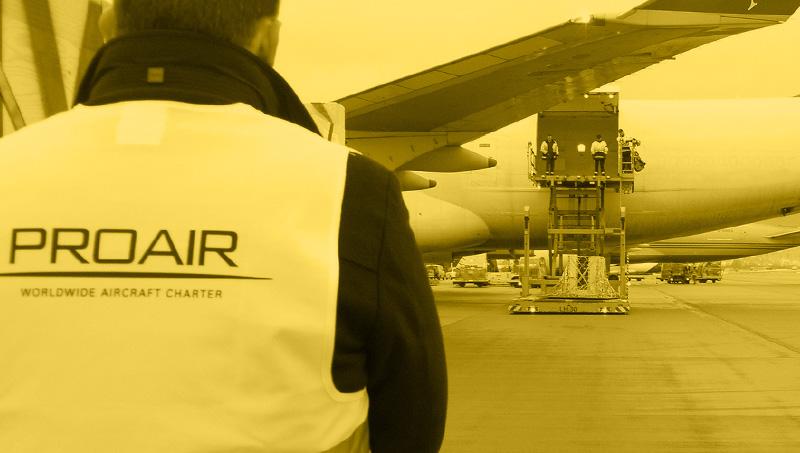 Fluglogistik für weltweite Krisensituationen