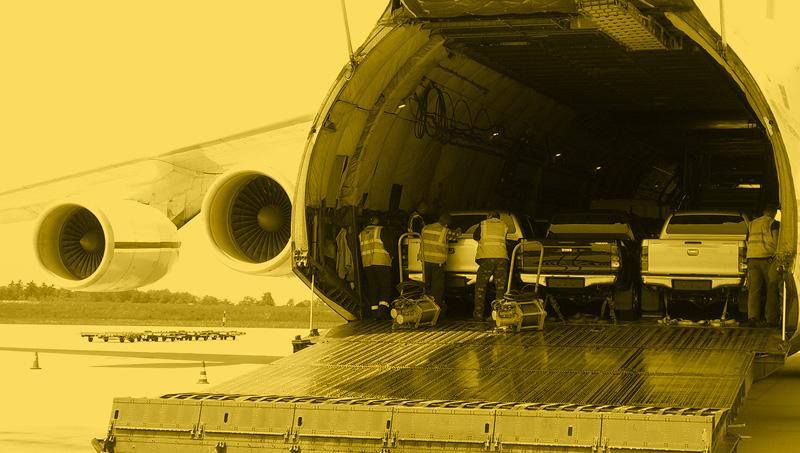 Outsized-Cargo per Flugzeug