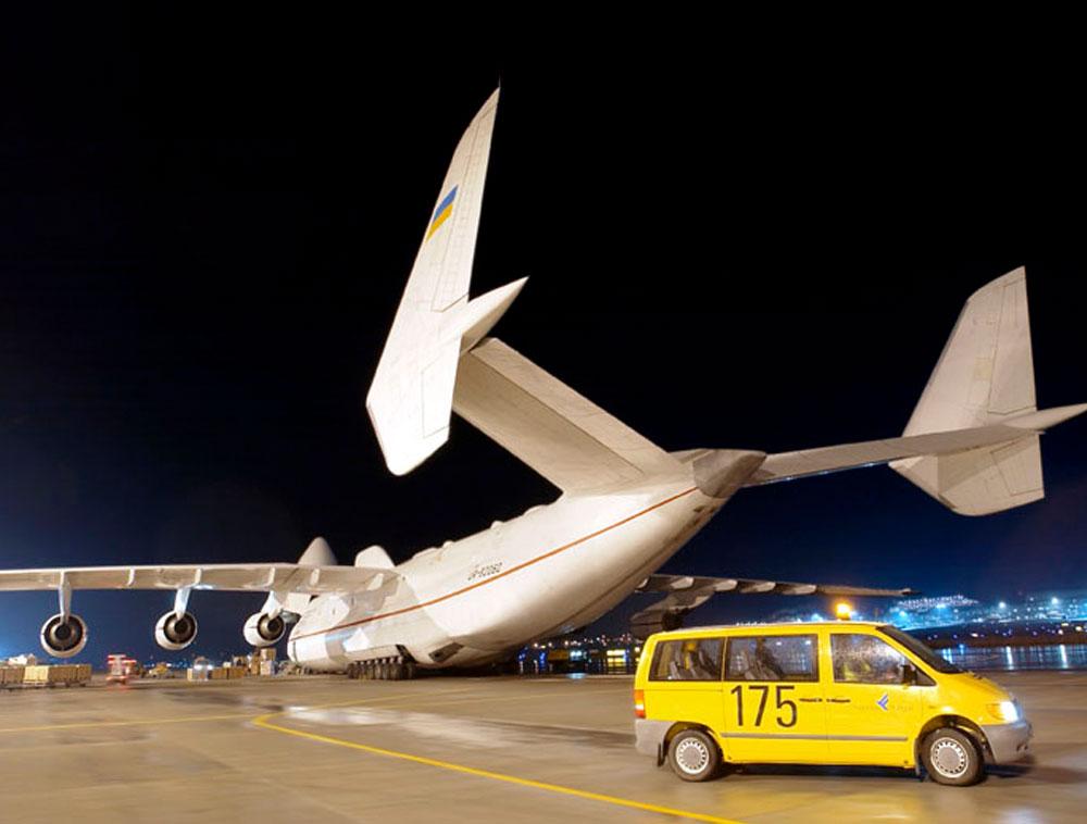 Erster gewerblicher Charterflug mit weltgrößtem Frachter Antonov AN-225