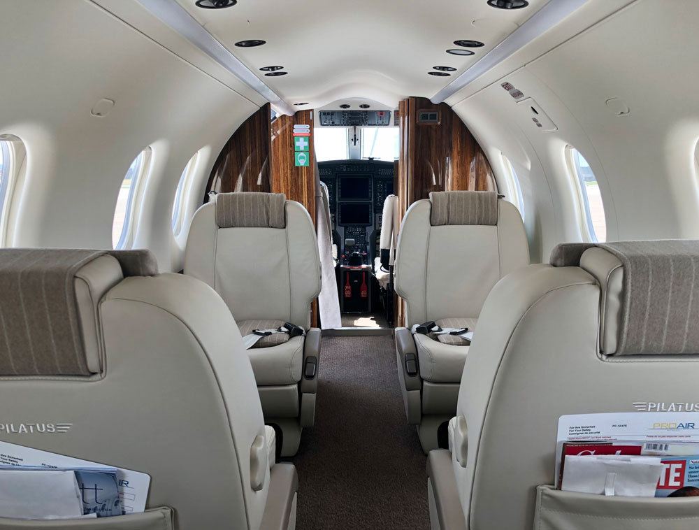 ProAir Aviation first aviation company with PC-12 on AOC