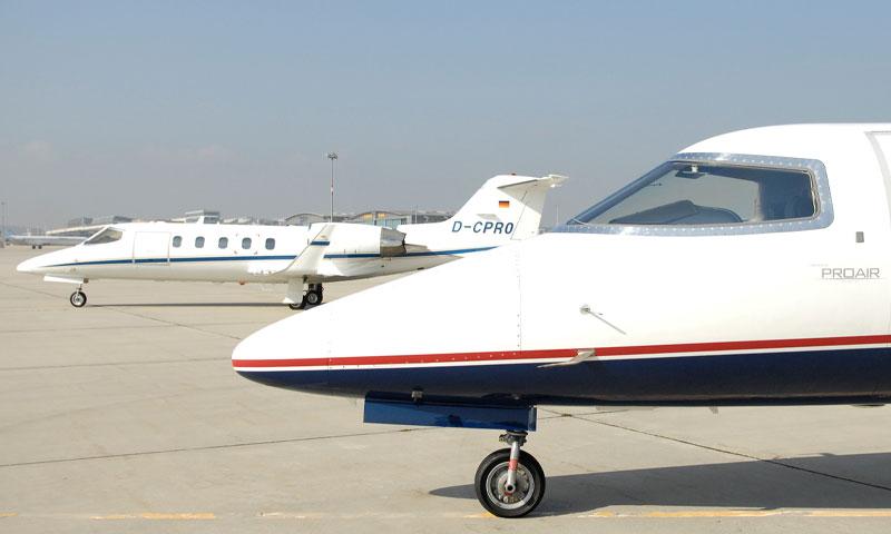 Jets für Geschäfts- und Privatreisende