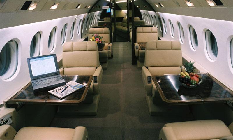 Luxuriöse Passagierkabine mit Stehhöhe