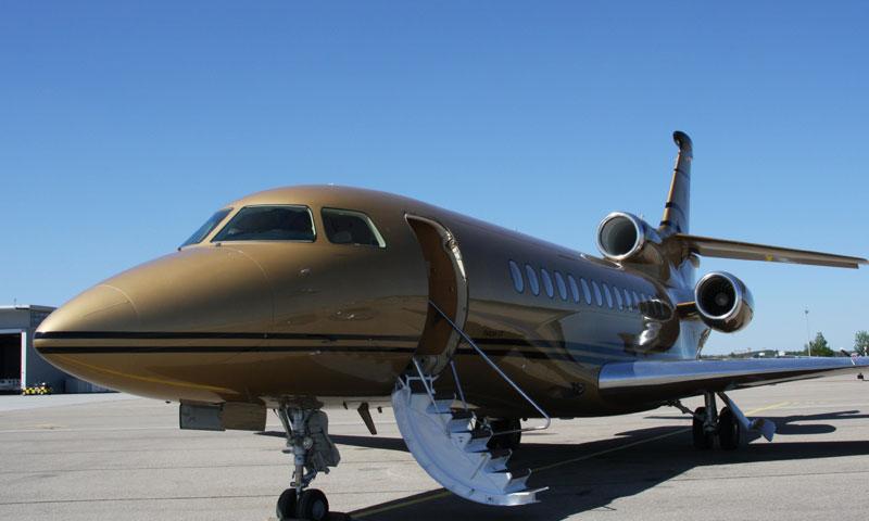 Geschäftsreiseflugzeug für Mittelstreckenflüge