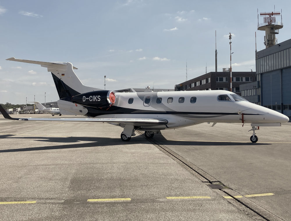 Embraer Phenom 300E in Betrieb genommen